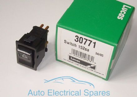 lucas 30771 152SA hazard warning light switch